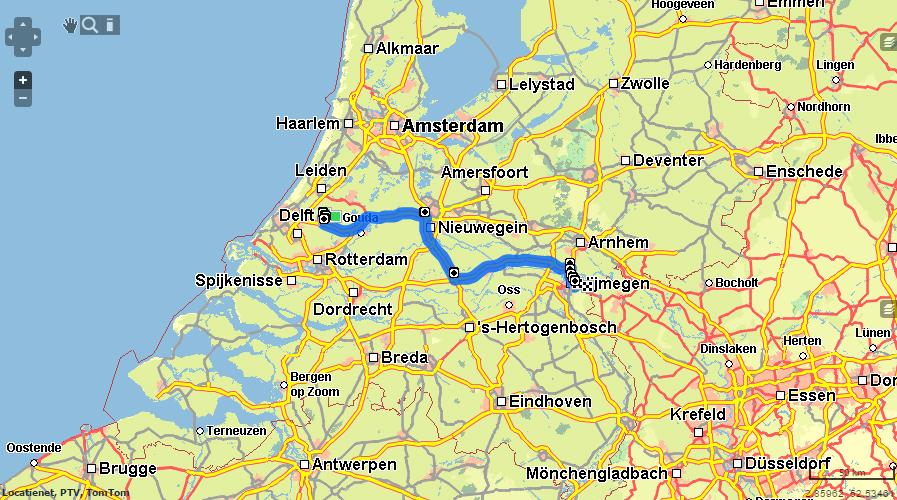 Heloohaloo 25 Nieuwe Routeplanner Europa