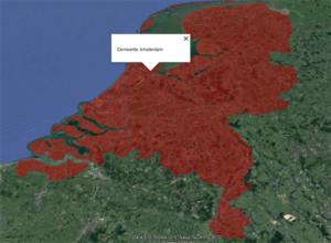 KML Polygonen Gemeenten Nederland